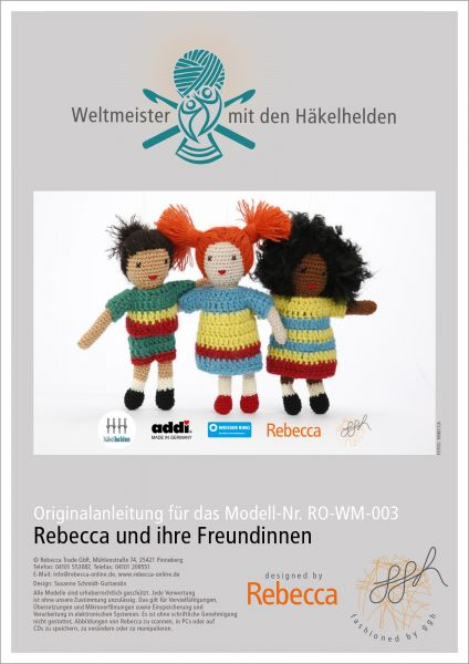 """Häkelanleitung """"Rebecca & ihre Freundinnen"""""""