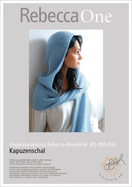 Anleitung - Kapuzenschal