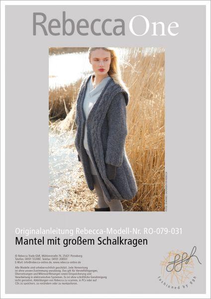 Anleitung - Mantel mit Schalkragen